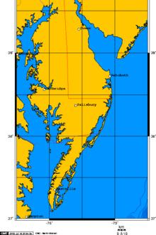 The Delmarva Peninsula