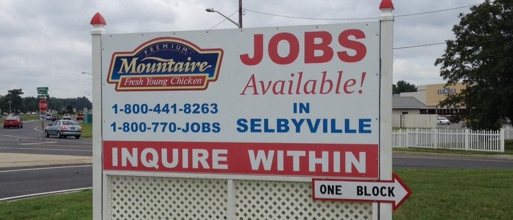 Mountaire job billboard