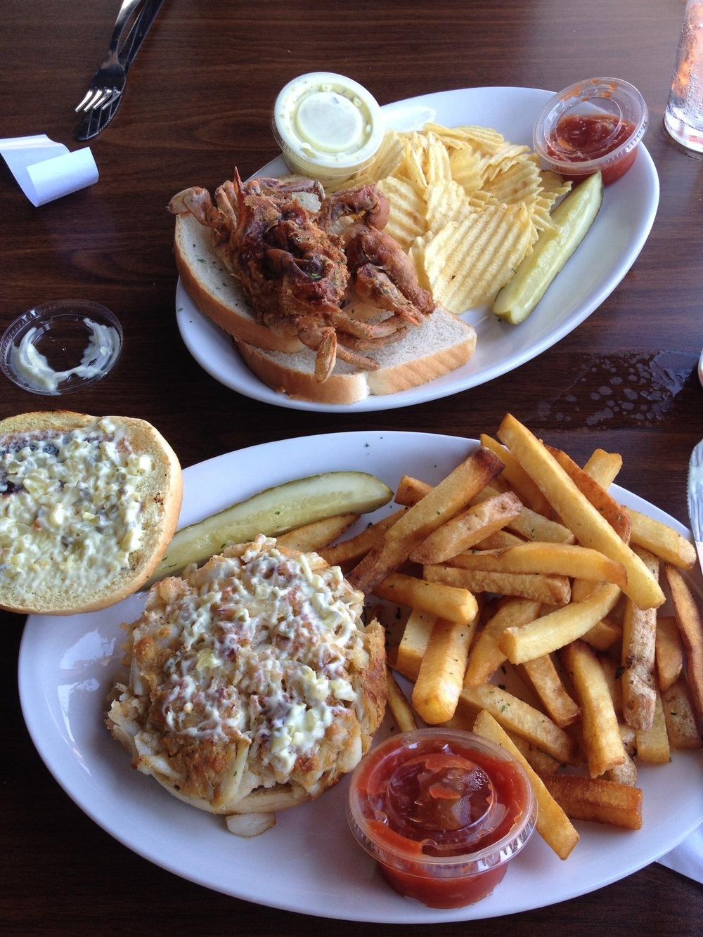 Lunch in Crisfield